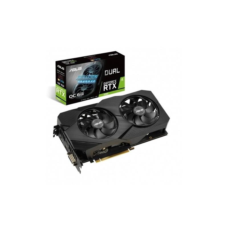 Placa Gráfica Asus GeForce® RTX 2060 DUAL EVO OC 6GB